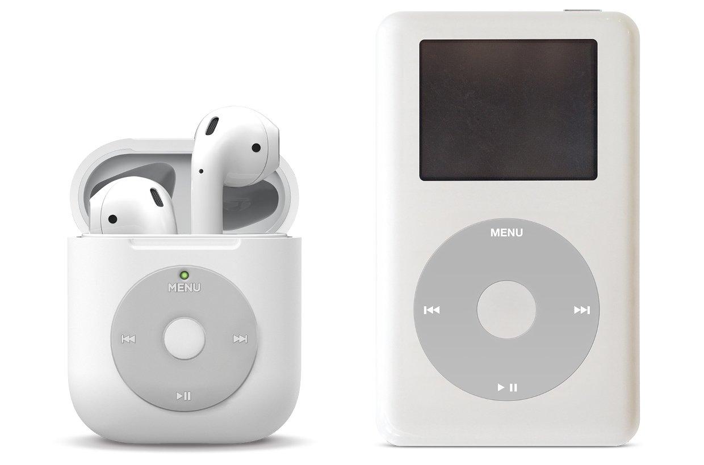Elago выпустила чехол для AirPods в стиле iPod Classic