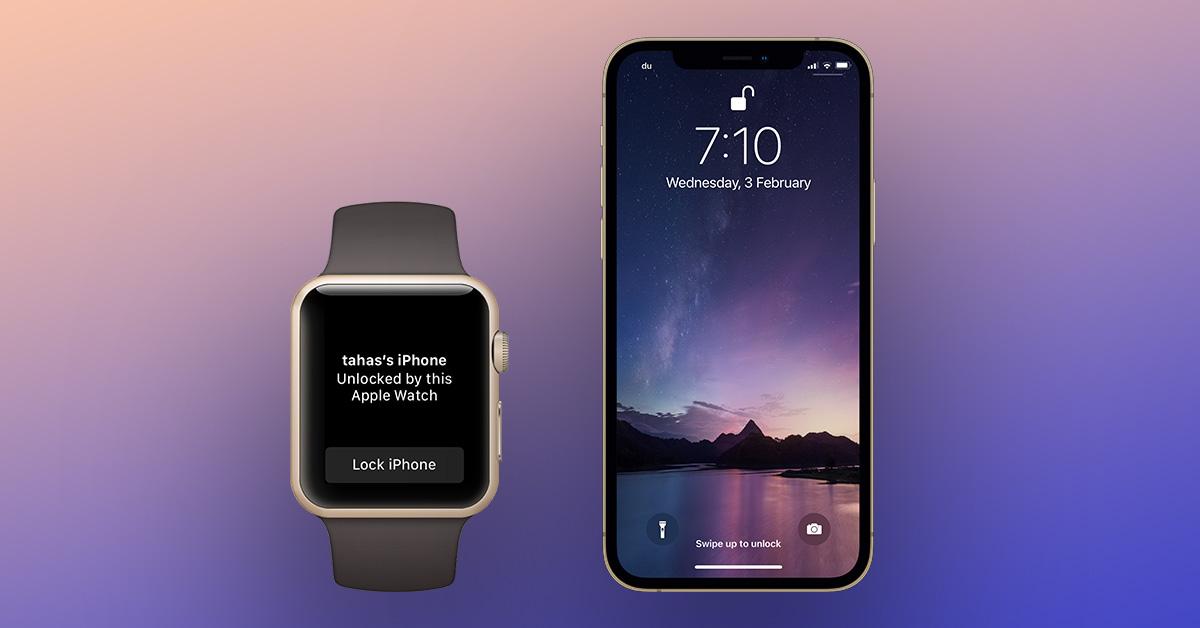 Apple починит разблокировку iPhone 13 с помощью Apple Watch в следующем обновлении iOS 15
